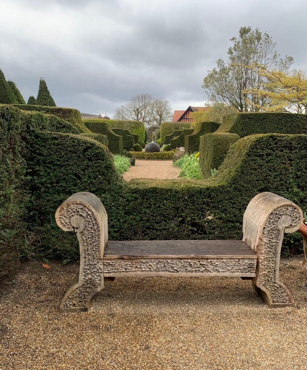 Arundel Castle Gardens topiary