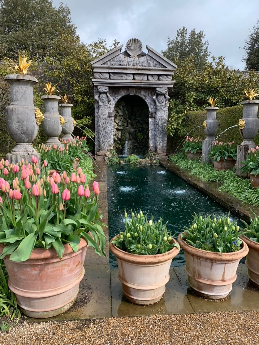 Arundel Castle Gardens canal