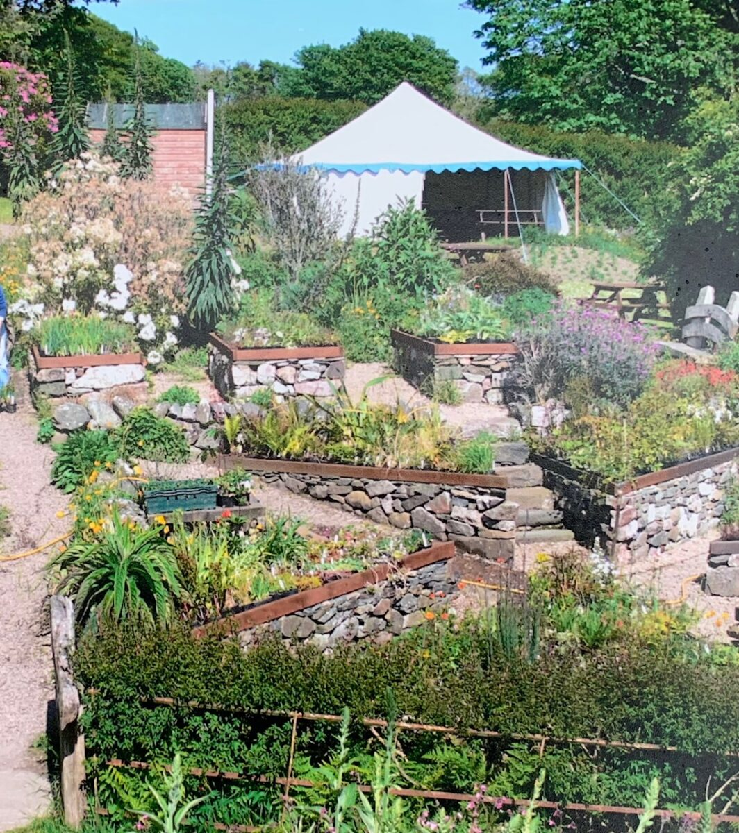 Jura walled garden